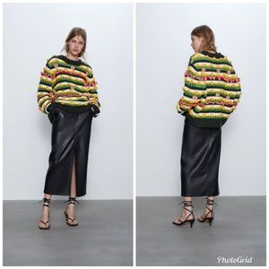 NWT Zara Limited Edition Embellished Sweater